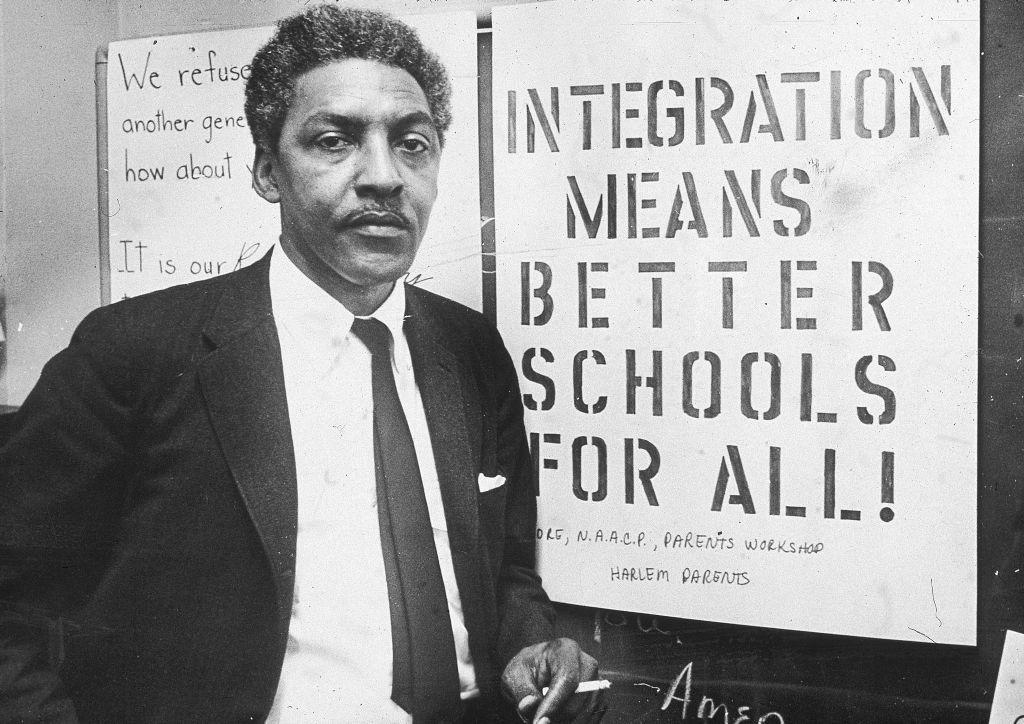 "<p>Ten years prior to the 1963 March on Washington, openly gay <a href=""http://rustin.org/?page_id=2"">Bayard Rustin</a> was arrested for sleeping with another man on a ""morals charge."" He served 2 months in jail and was added to the sex offender list. Despite all of this, he continued to become a prominent figure in the civil rights movement promoting non-violent actions for change. Despite what happened to him, he also bravely advocated for the LGBT community.</p>"