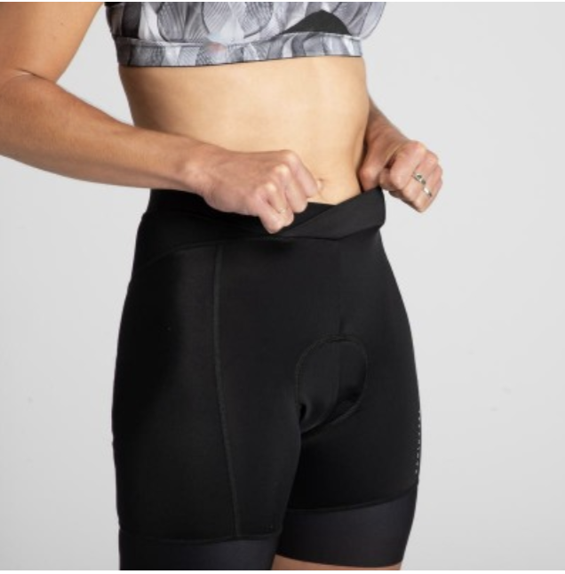Van Rysel women's bibless cycling shorts, S$40 (was S$55). PHOTO: Decathlon