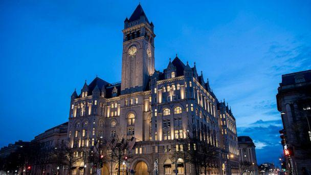 PHOTO: In this Jan. 23, 2019, file photo, the Trump International Hotel in Washington, D.C. (Alex Brandon/AP, FILE)