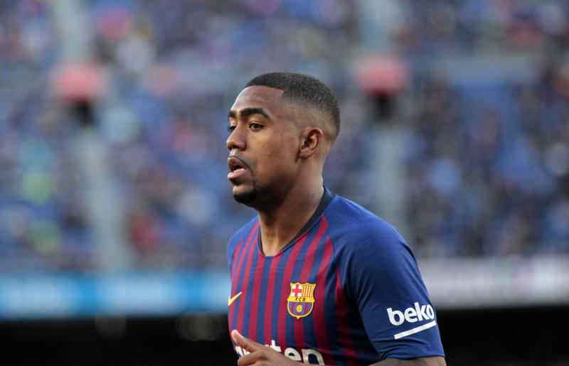 Malcom during the match between FC Barcelona angd Getafe, corresponding to the round 37 of the Liga Santander, played at the Camp Nou Stadium, on 12th May 2019, in Barcelona, Spain. -- (Photo by Urbanandsport/NurPhoto via Getty Images)