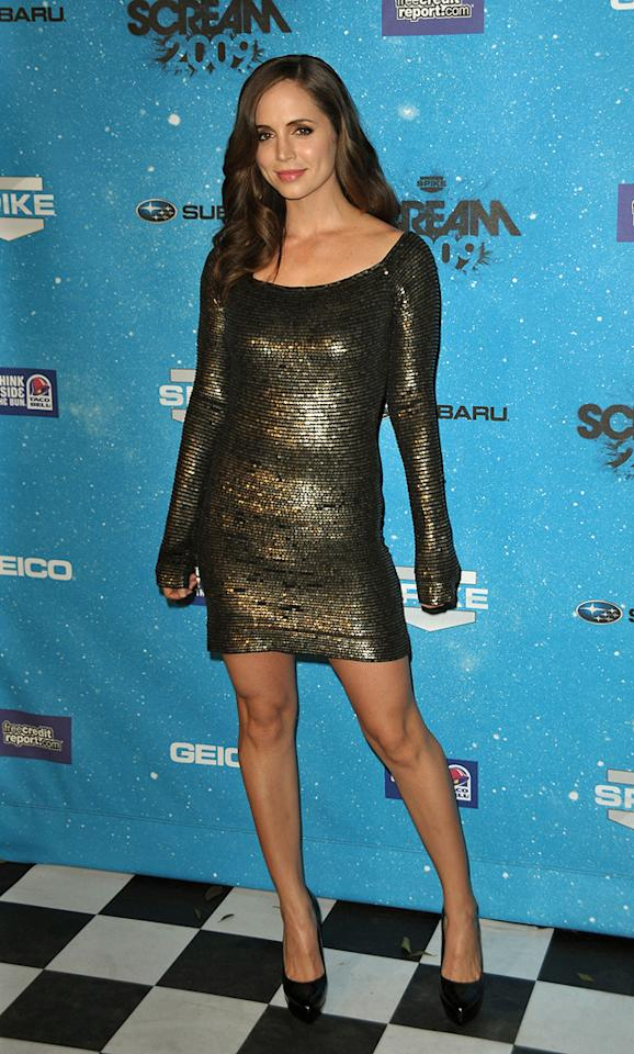"""<a href=""""http://movies.yahoo.com/movie/contributor/1800184994"""">Eliza Dushku</a> at the 2009 Spike TV Scream Awards in Los Angeles - 10/17/2009"""