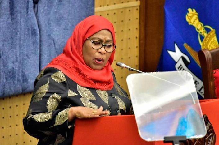 Tanzania's new President Samia Suluhu Hassan took office in March