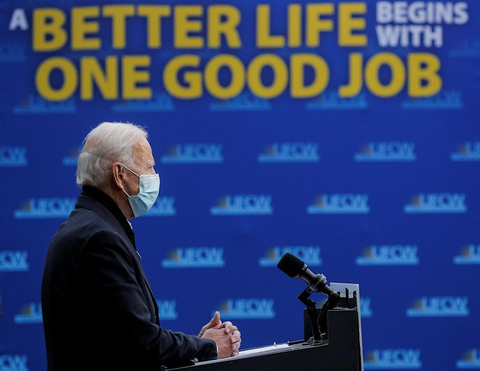 What would the impact of a Biden presidency be on the US economy? (REUTERS)