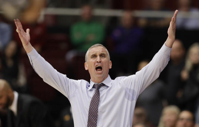 After Arizona State started the season 12-0, head coach Bobby Hurley has seen them lose four of their last six games. (AP)