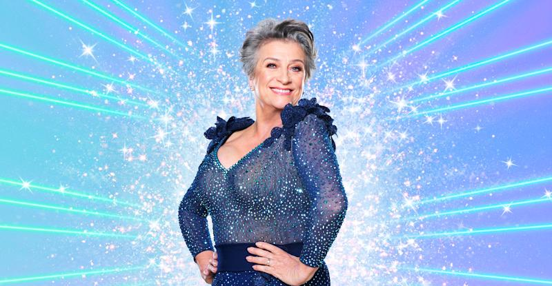 Caroline Quentin is taking part in Strictly Come Dancing 2020. (BBC)
