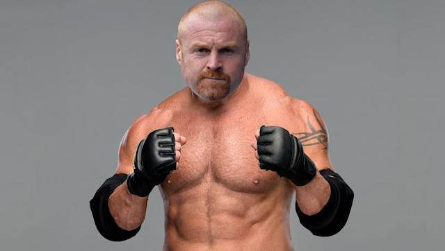 <p>Not too much thought has gone into this comparison, gotta be honest. </p> <br><p>Sean Dyche and Goldberg though are bald (give or take), have goatees, and are double-hard bastards. Goldberg racked up over 100 consecutive victories while in his pomp at WCW, and Burnley are half decent at home this season. So that's good enough.</p> <br><p>Goldberg is going into 'Mania as Universal Champion though, and dubbing old Dychey as the champion of anything - let alone the whole bloody universe - is a stretch.</p> <br><p>We'll leave that there.</p>