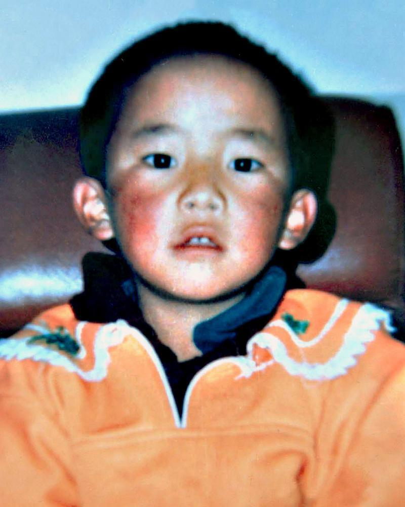 Gedhun Choekyi Nyima, who was recognised as 11th Panchen Lama by the Dalai Lama.