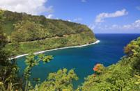 "<p><strong>The Drive:</strong> <a href=""https://www.tripadvisor.com/Attraction_Review-g29220-d106115-Reviews-Hana_Highway_Road_to_Hana-Maui_Hawaii.html"" rel=""nofollow noopener"" target=""_blank"" data-ylk=""slk:Hana Highway"" class=""link rapid-noclick-resp"">Hana Highway</a></p><p><strong>The Scene:</strong> Journey around Maui, Hawaii from <a href=""https://www.tripadvisor.com/Tourism-g60631-Kahului_Maui_Hawaii-Vacations.html"" rel=""nofollow noopener"" target=""_blank"" data-ylk=""slk:Kahului"" class=""link rapid-noclick-resp"">Kahului</a> to <a href=""https://www.tripadvisor.com/Tourism-g60630-Hana_Maui_Hawaii-Vacations.html"" rel=""nofollow noopener"" target=""_blank"" data-ylk=""slk:Hana"" class=""link rapid-noclick-resp"">Hana</a> on this 2.5 hour, 52-mile trip while you take in the gorgeous tropics and ocean views.</p><p><strong>The Pit-Stop:</strong> You'll want to take a quick break from your travels to take a closer look at <a href=""https://www.tripadvisor.com/Attraction_Review-g60623-d546344-Reviews-Wailua_Falls-Lihue_Kauai_Hawaii.html"" rel=""nofollow noopener"" target=""_blank"" data-ylk=""slk:Wailua Falls"" class=""link rapid-noclick-resp"">Wailua Falls</a>, one of several waterfalls featured on the route.</p>"