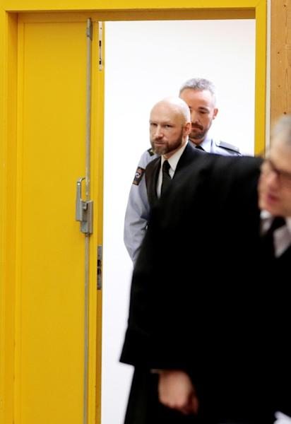 Breivik has never shown any remorse for the brutal murder of 77 people in 2011