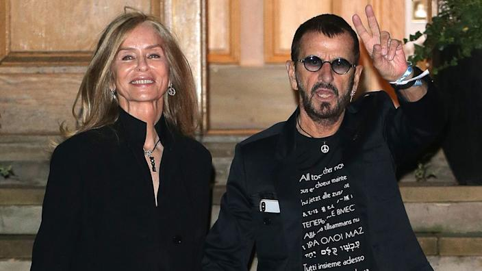 Ringo Starr and his wife Barbara Bach have been married for 39 years