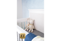 The actress is sharing the first look at her nursery with ET.
