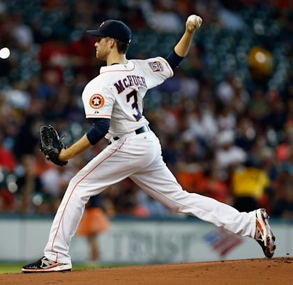 Collin McHugh is one of many SP sleepers that haven't panned out.  (Getty)