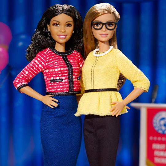 Gabby Douglas announces new Barbie Shero doll ahead of Olympics