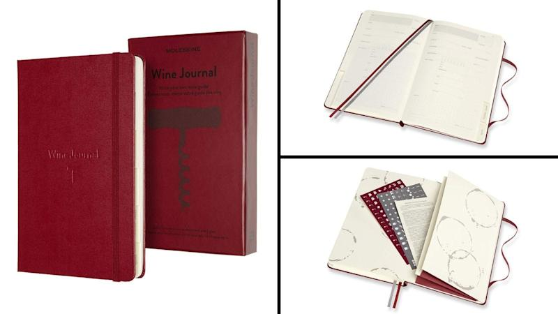 Best gifts for wine lovers 2019: Moleskine Wine Journal