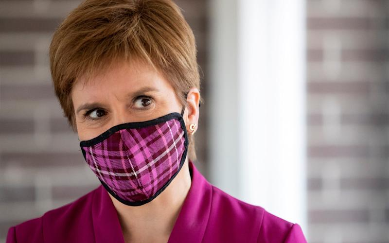 Nicola Sturgeon is to consider new restrictions over the weekend - Getty Images Europe