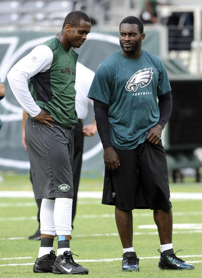 Jets' Geno Smith eager to work with 'my guy' Vick