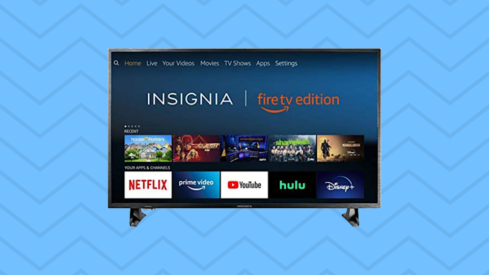 There are a number of reasons, and reasoning by numbers, why you should jump on this deal: 32 inches. 720p. $120. 40 percent off.  (Photo: Amazon)