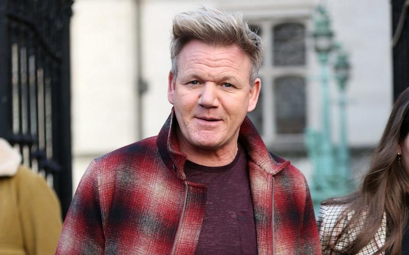 Gordon Ramsay received objections over his plan to fell four trees to make way for his drive - GC Images