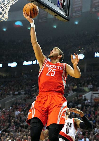 Chandler Parsons averaged 16.6 points for the Rockets last season. (Getty Images)
