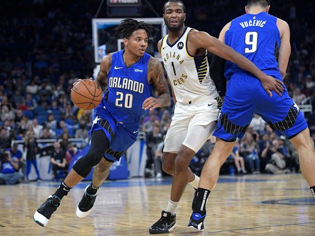 With Markelle Fultz playing downhill, Magic offense picking up momentum