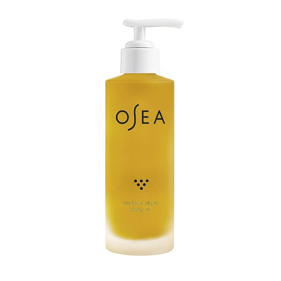 """Elevate your postbath routine with this antioxidant-rich oil blend from Osea, which helps lock in moisture when applied to damp skin, and leaves scents of acai and passionfruit behind. $48, Osea. <a href=""""https://shop-links.co/1726726502659875037"""" rel=""""nofollow noopener"""" target=""""_blank"""" data-ylk=""""slk:Get it now!"""" class=""""link rapid-noclick-resp"""">Get it now!</a>"""