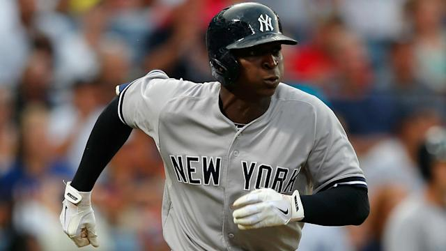 The Yankees' starting shortstop has been shut down at least due weeks while he recovers from a right shoulder strain.