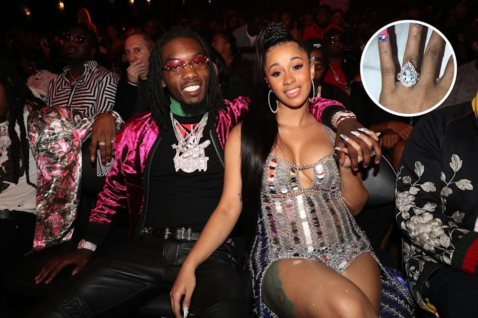 The two rappers had a daughter together before splitting up. (Photo: Getty Images)