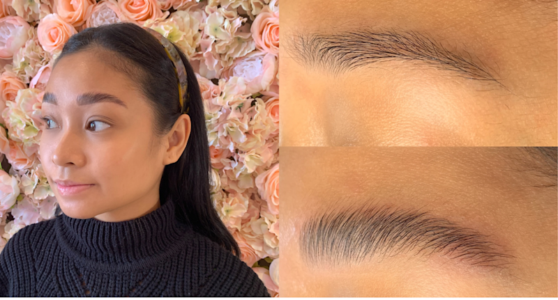 #TrendOnTrial: Brow Lamination — the newest process to get fuller-looking brows without the need for needles