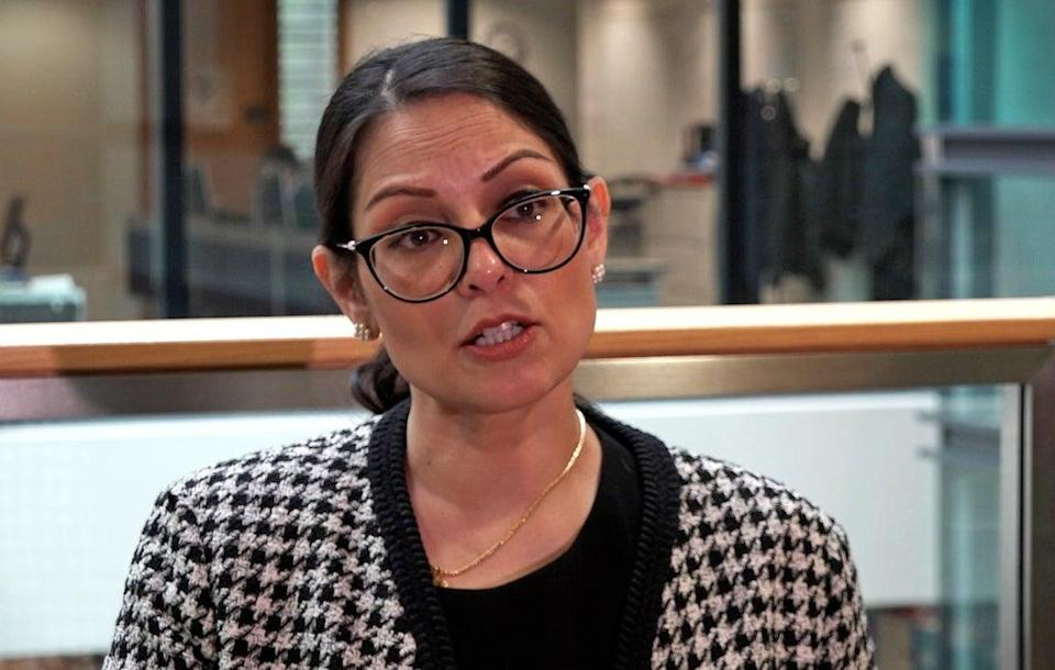 Home Secretary Priti Patel will set out the UK's stance on immigration when she addresses the Tory party conference (Marc Edward/PA) (PA Wire)
