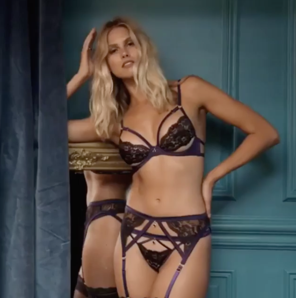 Natalie Roser turns up the heat in this racy lingerie campaign. Source: Instagram/natalie_roser