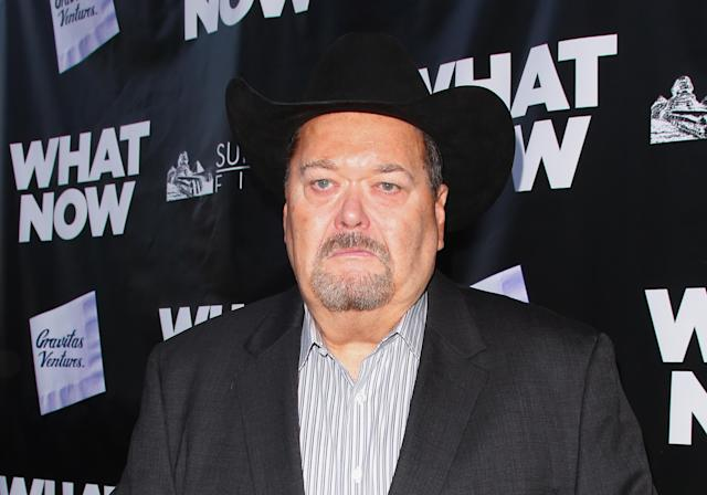 Former WWE announcer Jim Ross suggested Dorin Dickerson take part in a WWE tryout. (Getty Images)
