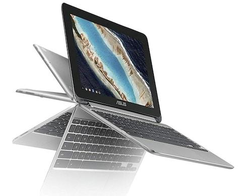 ASUS touchscreen chromebook flip laptop