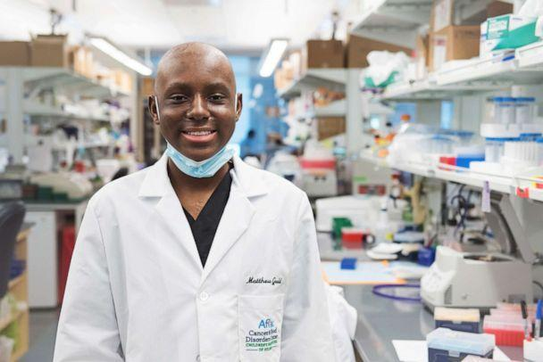 PHOTO: Matthew, 16, has Pediatric T-Cell acute lymphoblastic leukemia and wants to be a doctor and researcher when he grows up. (Ashley Berrie Photography)