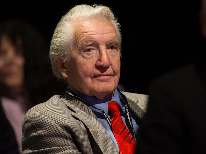 At 83, Labour's Dennis Skinner is one of the oldest candidates: Getty Images