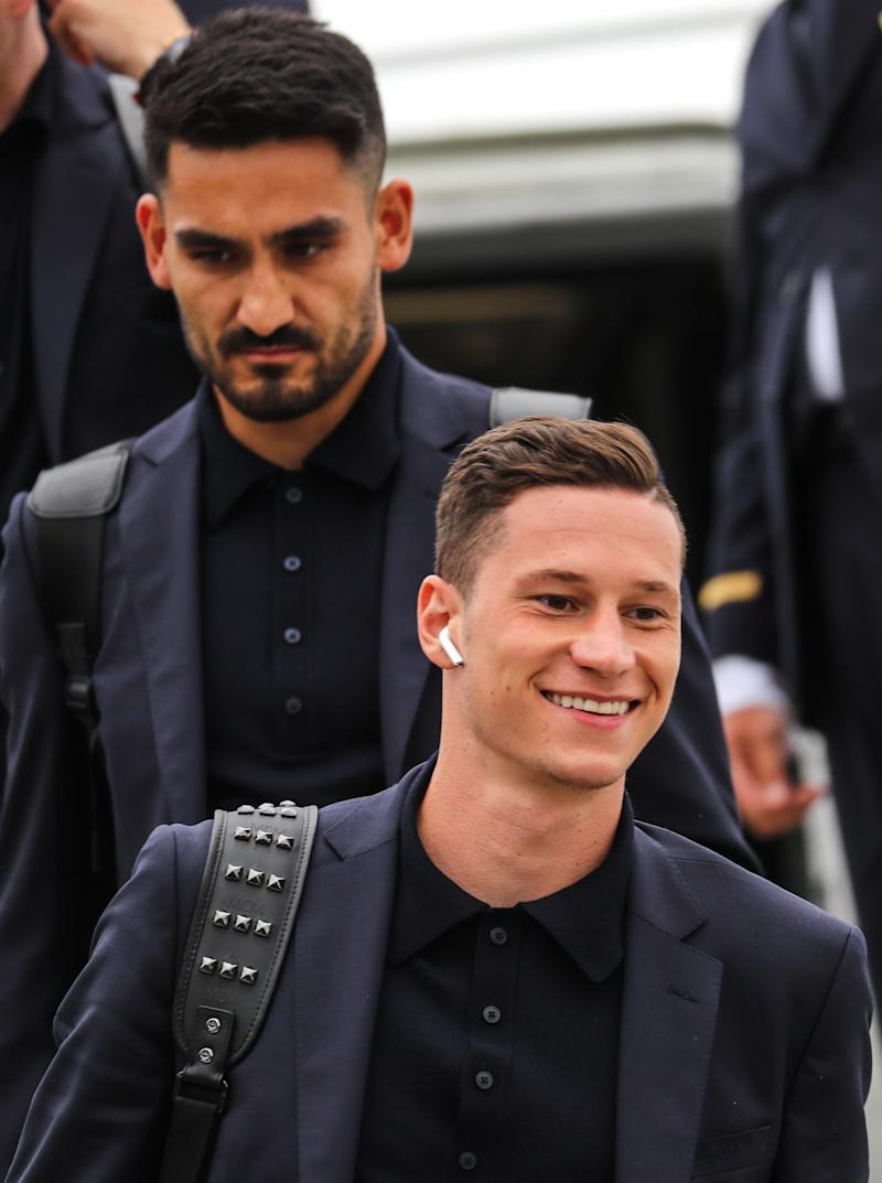 copa mundial apple 2018 fifa world cup team germany arrives in russia