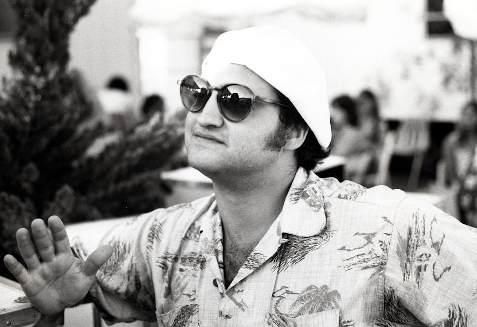 John Belushi during John Belushi File Photos at Morton's Rest in Anaheim, California, United States. (Photo by Ron Galella, Ltd./Ron Galella Collection via Getty Images)
