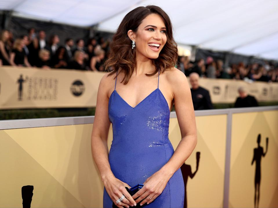 Mandy Moore anunció su embarazo. (Getty Images for Turner Image)