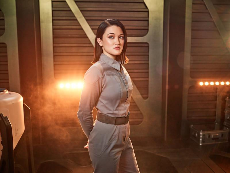 Pictured: Isa Briones of the CBS All Access series STAR TREK: PICARD. (Photo Cr: James Dimmock/CBS ©2019 CBS Interactive, Inc. All Rights Reserved.)