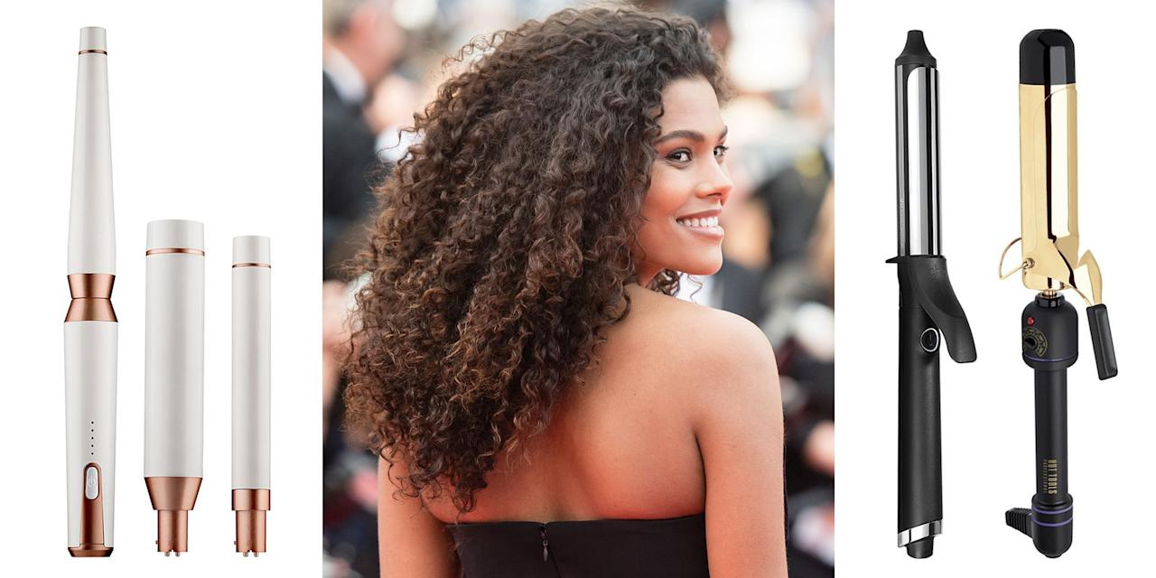 <p>Most of us have a long, spiraling history with curling irons. A one-inch barrel might have created your perfect prom curls as a teen, or maybe you plugged in a wand during your many attempts to master Victoria's Secret Angel hair. It's about time you got an upgrade. When curling, it's best to choose a tool that's specifically made for your desired style and hair texture. Here's a selection of some of the top tools on the market right now. <br></p>