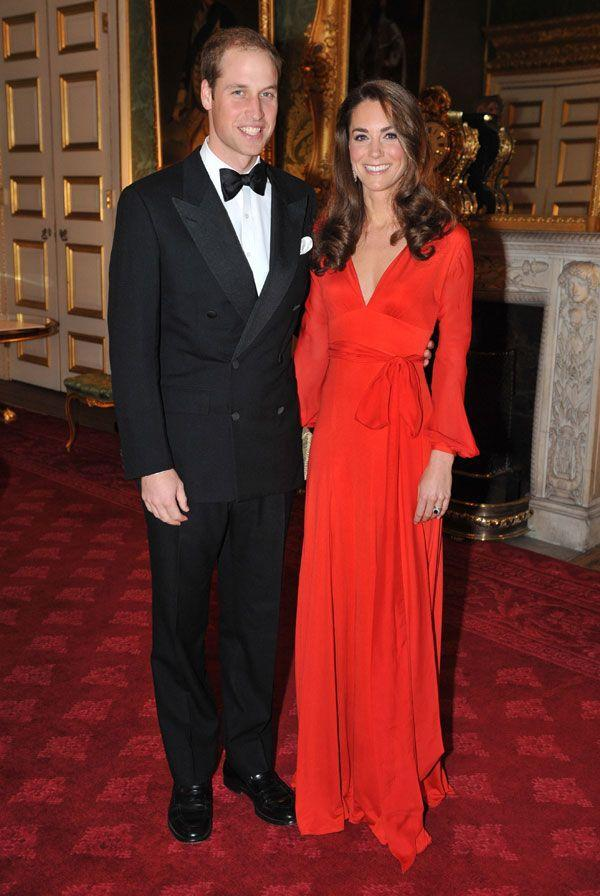 <p>In a Beulah London dress for the 100 Women in Hedge Funds Gala at the St. James Palace in London</p>