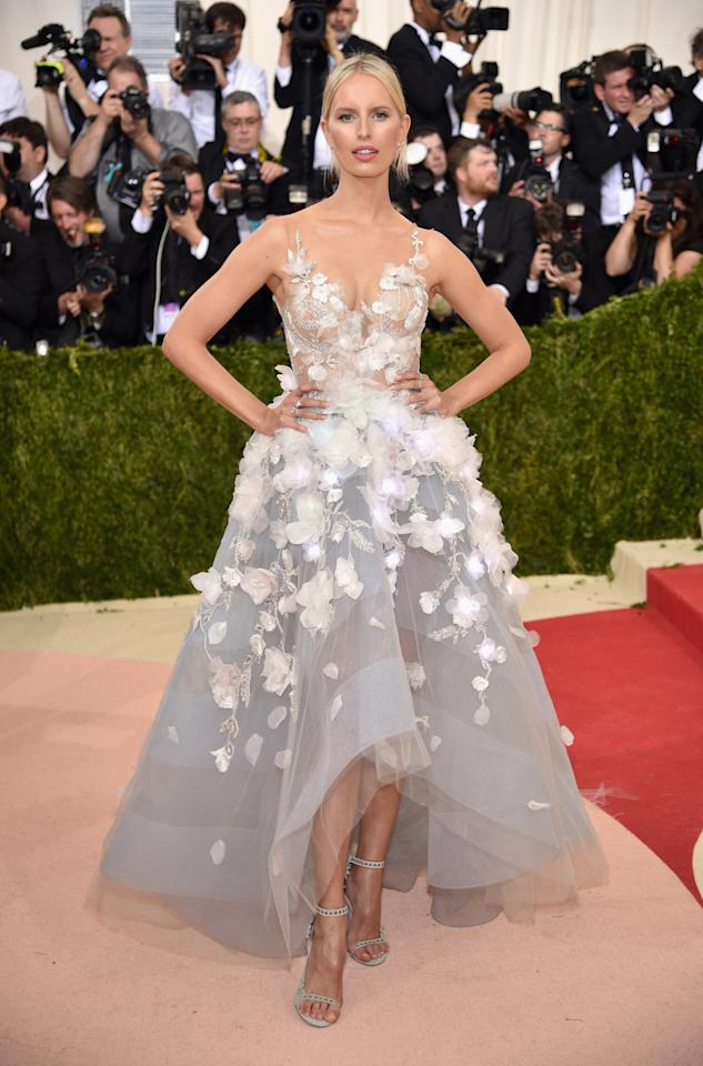 <p>At the 'Manus x Machina: Fashion In An Age Of Technology' Costume Institute Gala in May 2017. [Photo: Getty] </p>