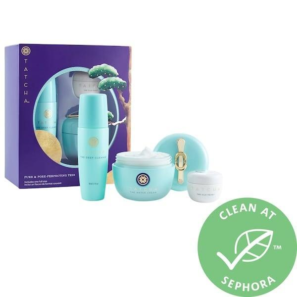 <p>This <span>Tatcha Pure and Pore-Perfecting Trio</span> ($72) is such a luxe gift.</p>