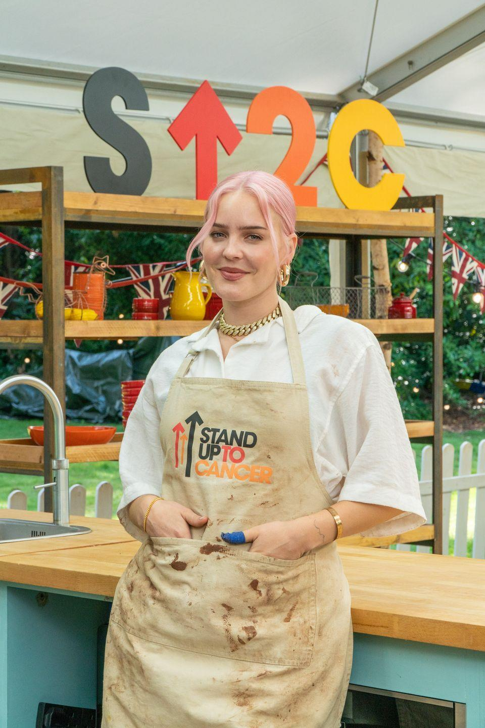 <p>Anne-Marie is a singer and judge on The Voice. </p>
