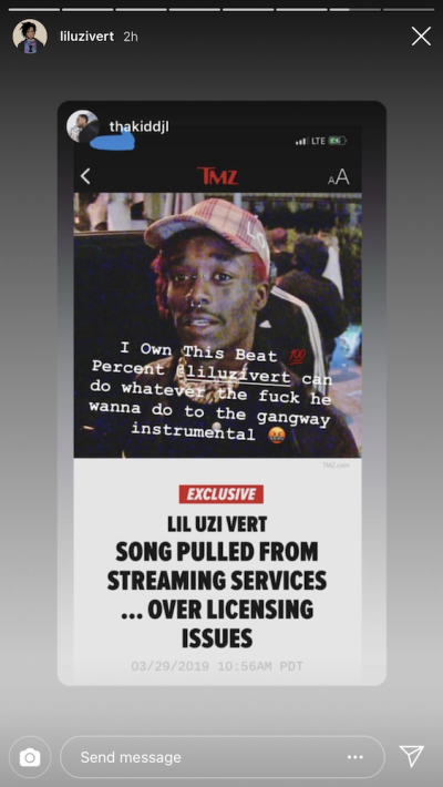 This Is Reportedly Why Lil Uzi Vert's
