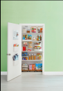 """<p>Find your canned veggies, beans, and soups in a flash with a tiered shelf. You'll know when you're running low on staples if you're able to see everything at once.</p><p><a class=""""link rapid-noclick-resp"""" href=""""https://www.amazon.com/InterDesign-Linus-Cabinet-Organizer-Rack/dp/B001KOTJTS?tag=syn-yahoo-20&ascsubtag=%5Bartid%7C10055.g.2610%5Bsrc%7Cyahoo-us"""" rel=""""nofollow noopener"""" target=""""_blank"""" data-ylk=""""slk:SHOP TIERED SHELVES"""">SHOP TIERED SHELVES</a></p><p><strong>RELATED:</strong> <a href=""""https://www.goodhousekeeping.com/home/organizing/g25560359/pantry-organization-ideas/"""" rel=""""nofollow noopener"""" target=""""_blank"""" data-ylk=""""slk:The Best Ways to Organize Your Pantry"""" class=""""link rapid-noclick-resp"""">The Best Ways to Organize Your Pantry </a></p>"""