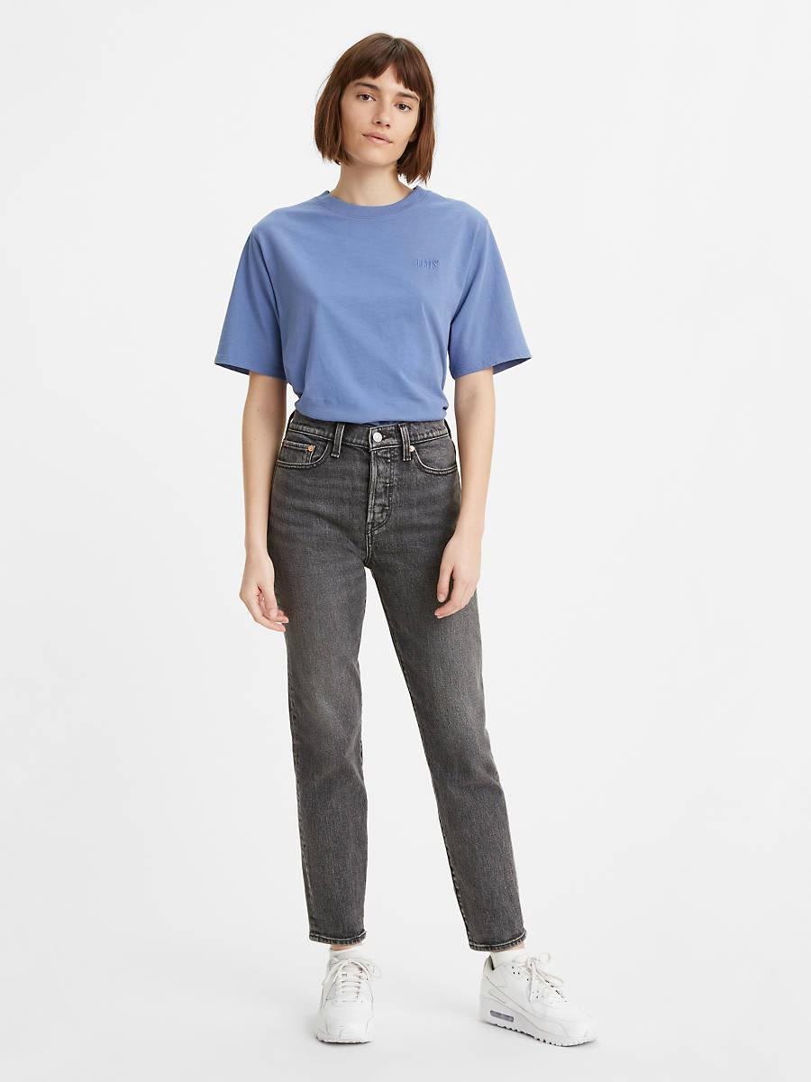 """<br><br><strong>Levi's</strong> Wedgie Fit Ankle Jeans, $, available at <a href=""""https://go.skimresources.com/?id=30283X879131&url=https%3A%2F%2Fwww.levi.com%2FUS%2Fen_US%2Fclothing%2Fwomen%2Fjeans%2Fwedgie-fit-ankle-womens-jeans%2Fp%2F228610077"""" rel=""""nofollow noopener"""" target=""""_blank"""" data-ylk=""""slk:Levi's"""" class=""""link rapid-noclick-resp"""">Levi's</a>"""