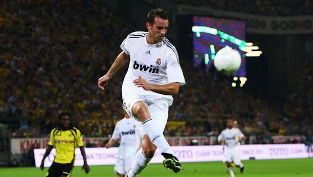 <p>The 6 ft 4 giant from West Germany spent a successful seven years at BVB before Real Madrid snatched him up in 2007 on a free transfer. While in Madrid, the German centre half helped Los Blancos to one La Liga title and a Supercopa de Espana crown.</p> <br><p>After three years where injuries blighted him at his peak, he was then released where he moved back to Germany to join Dortumund's local rivals Schalke.</p>