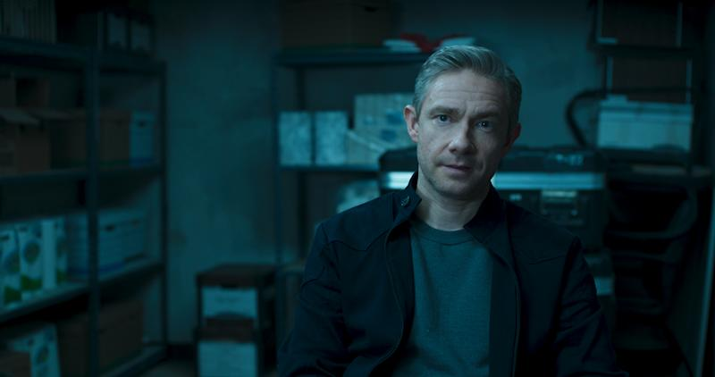 Martin Freeman as Everett K Ross.