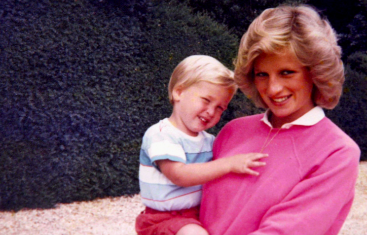 The Princes said they never saw their mother or father enough (Twitter/Kensington Palace)