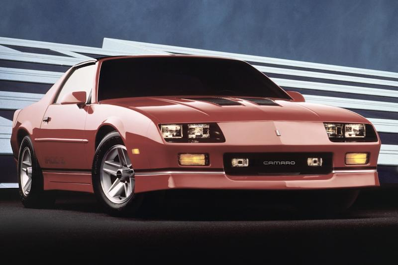 Chevy's trashy Camaro IROC-Z may be the next big collectible, says Bloomberg